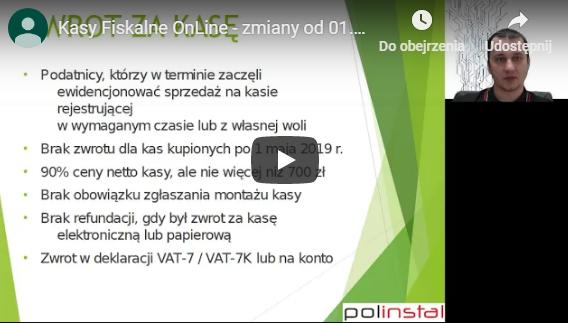 Kasy online video